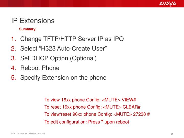 IP Extensions