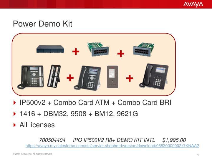 Power Demo Kit