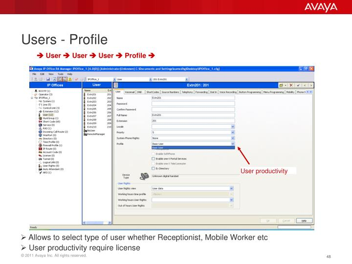 Users - Profile