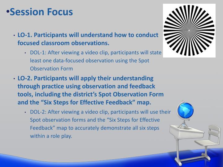 Session Focus