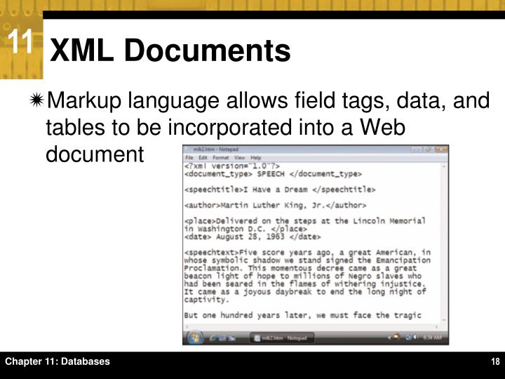 XML Documents