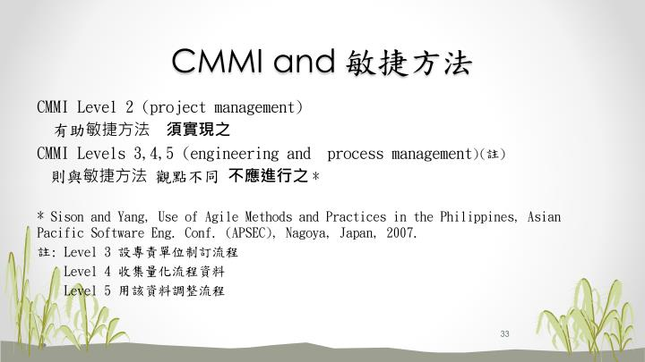 CMMI and