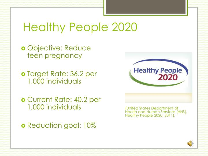 Healthy People 2020