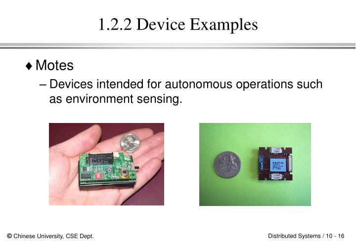 1.2.2 Device Examples