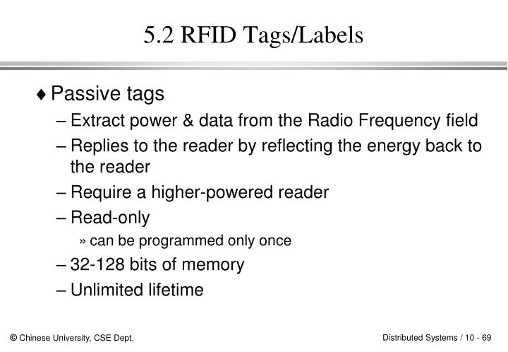 5.2 RFID