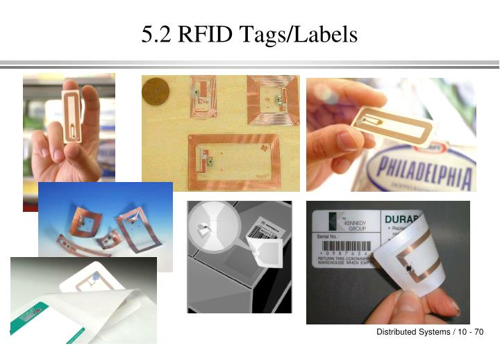 5.2 RFID Tags/Labels