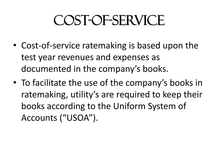 Cost-of-Service