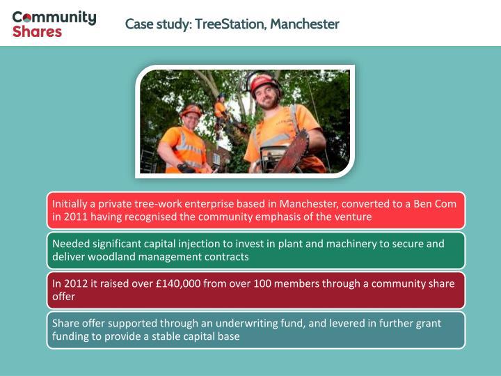 Case study: TreeStation, Manchester