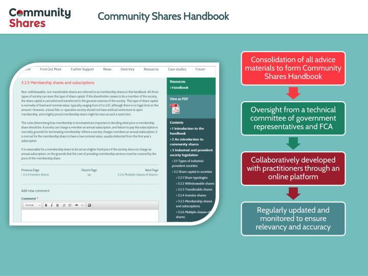 Community Shares Handbook