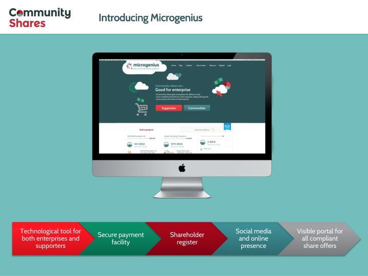 Introducing Microgenius