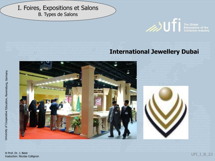 International Jewellery Dubai