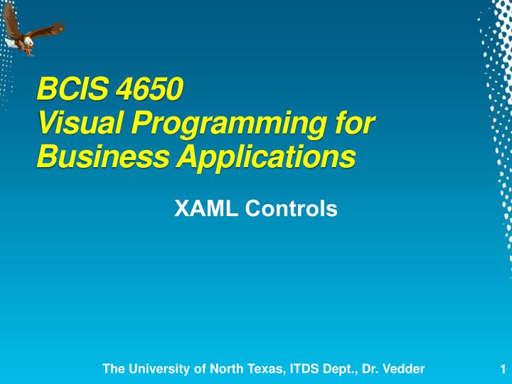 BCIS 4650