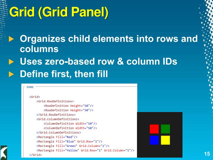 Grid (Grid Panel)