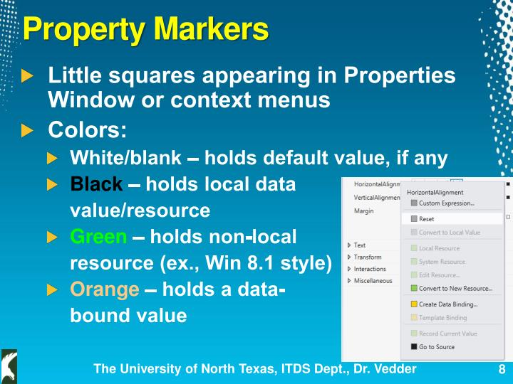 Property Markers