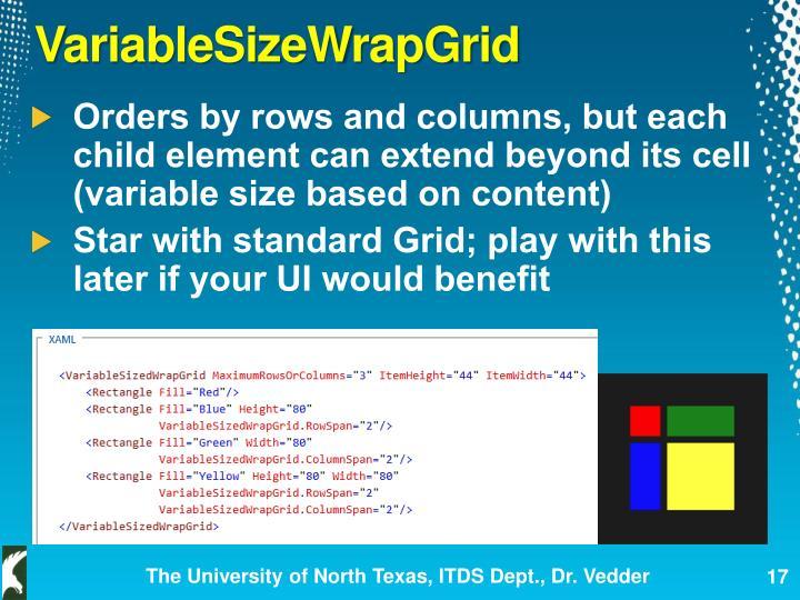 VariableSizeWrapGrid