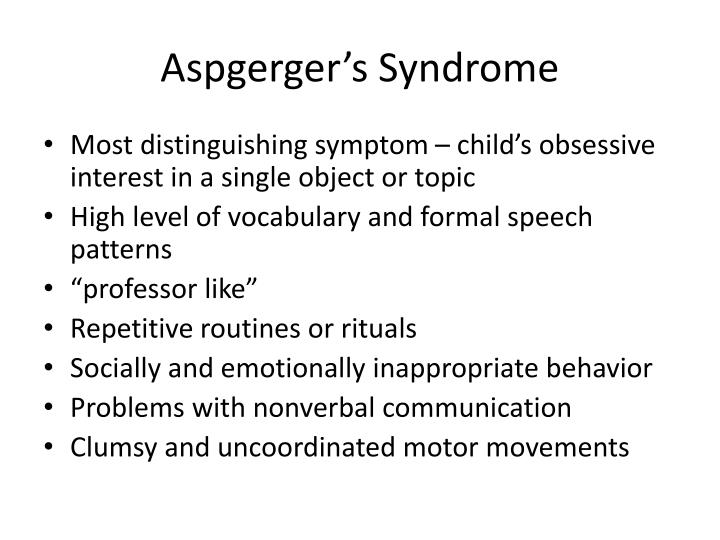 Aspgerger's Syndrome