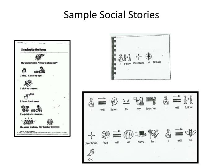 Sample Social Stories