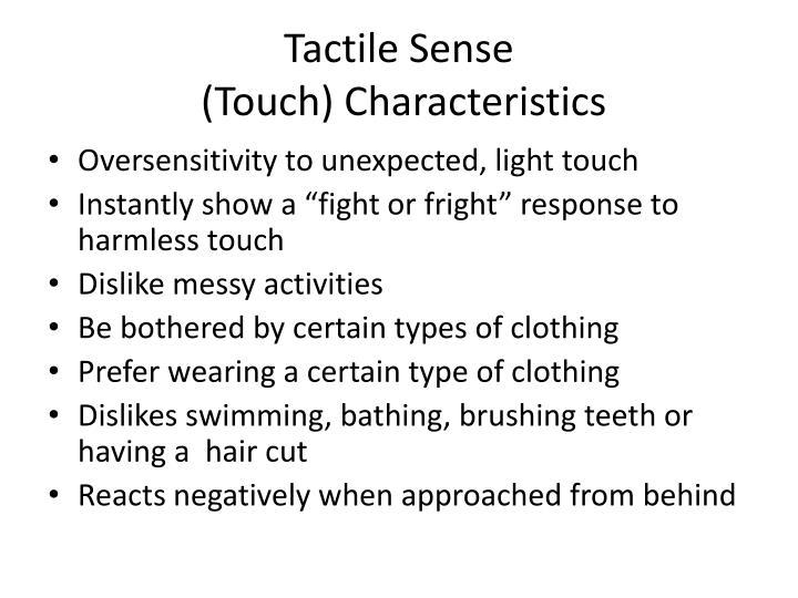 Tactile Sense