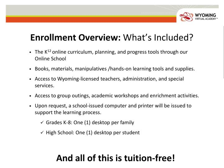 Enrollment Overview: