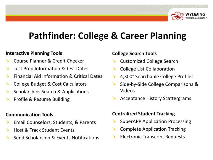 Pathfinder: College & Career Planning