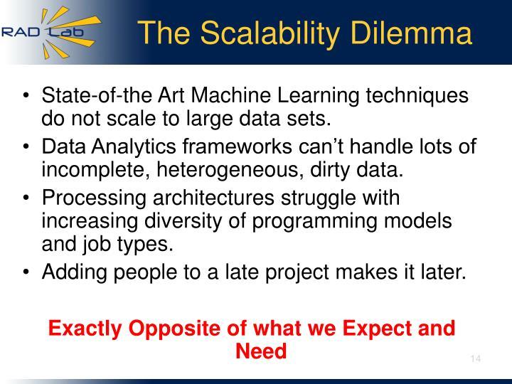The Scalability Dilemma