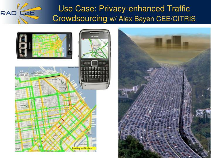 Use Case: Privacy-enhanced Traffic