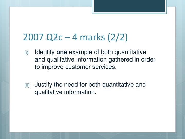 2007 Q2c – 4 marks (2/2)