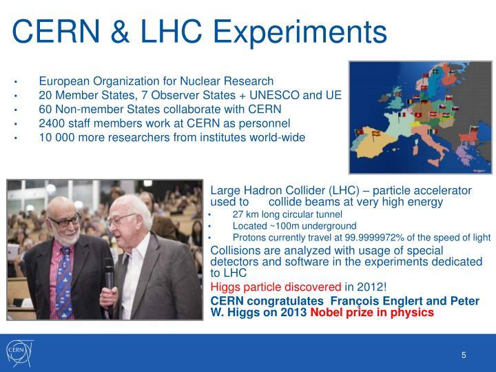 CERN & LHC Experiments