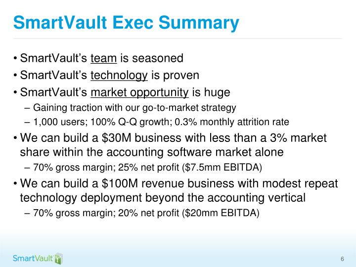 SmartVault Exec Summary