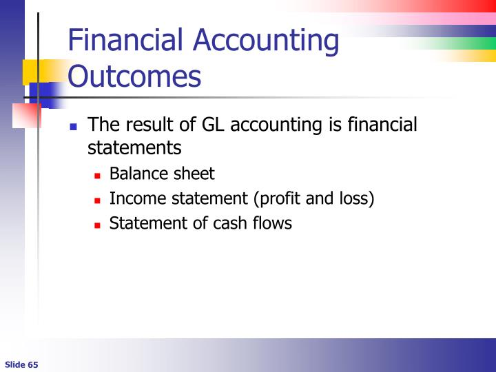Financial Accounting Outcomes