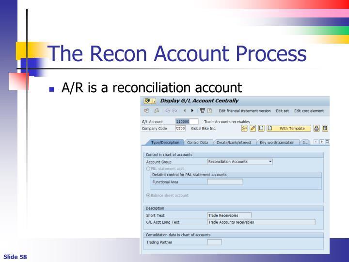The Recon Account Process