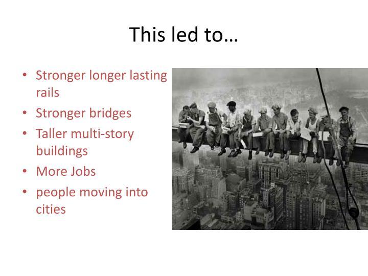 Stronger longer lasting rails