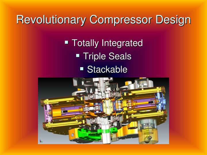 Revolutionary Compressor Design