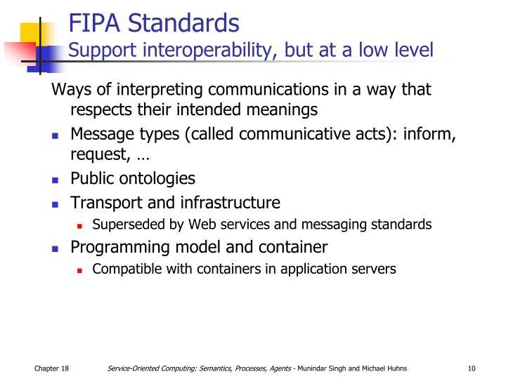 FIPA Standards