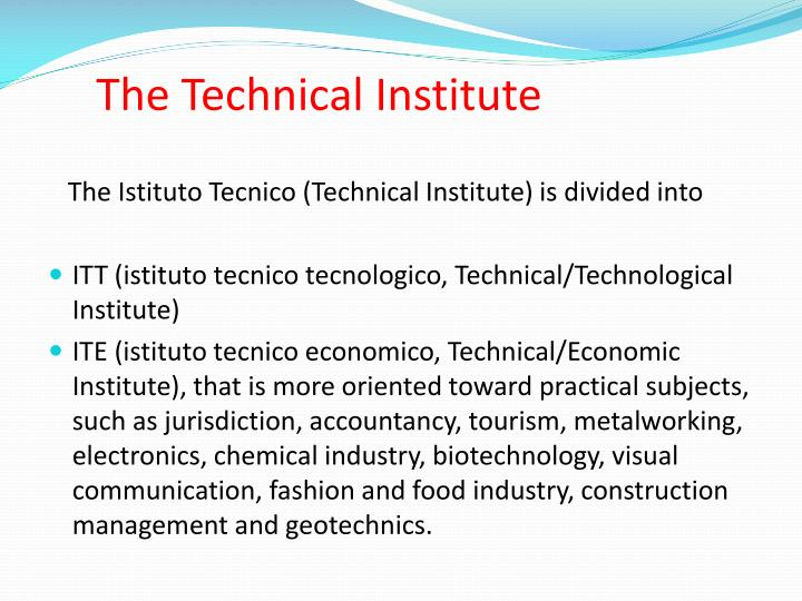 The Technical