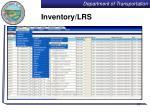 inventory lrs