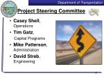 project steering committee
