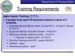 training requirements1