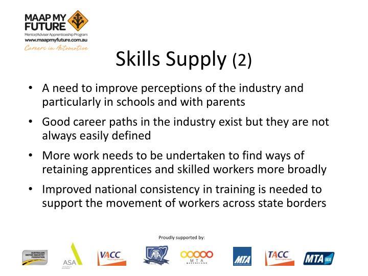 Skills Supply
