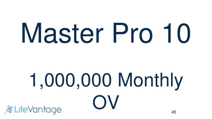 Master Pro 10