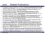 more related publications