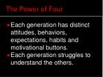 the power of four1