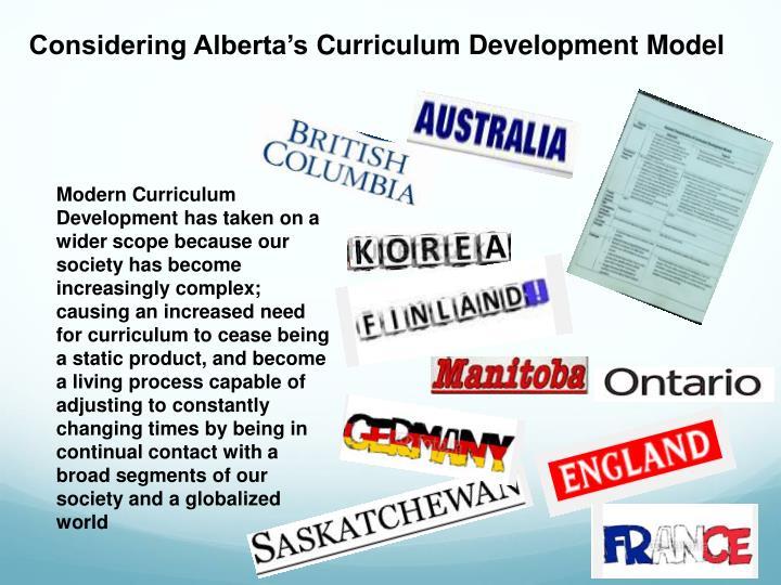 Considering Alberta's