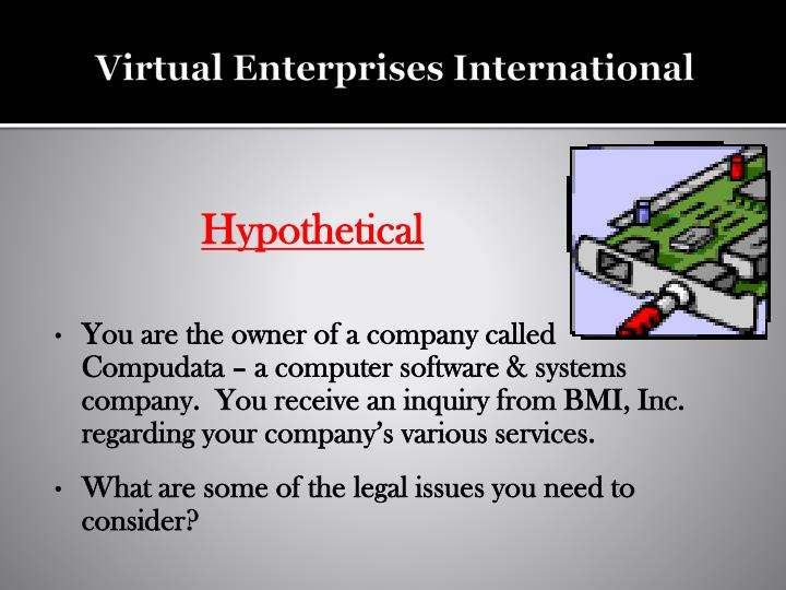 Virtual Enterprises International