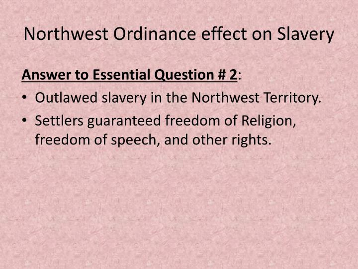 effect of slavery Check out our negative effects of trans-atlantic slave trade on africa essay introduction trans-atlantic slave trade was the most largest and famous slave trade, which occurred in africa during the early period of 15 th century.