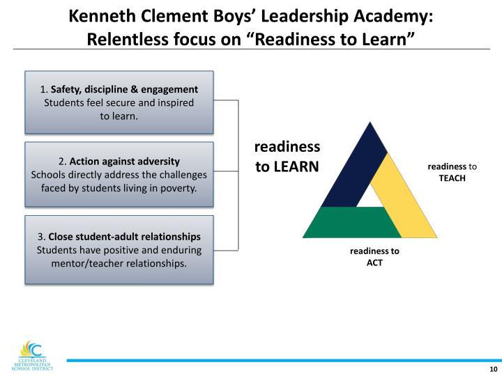 Kenneth Clement Boys' Leadership Academy