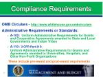 compliance requirements2