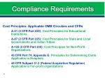 compliance requirements3
