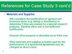 references for case study 3 cont d