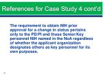 references for case study 4 cont d